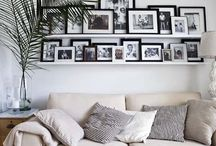 Home: Picture wall
