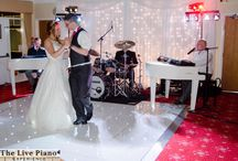 A beautiful wedding at worsley Golf club / The beautiful Jen and her new husband Rob know how to celebrate, so do all their friends.  It was a real priviledge to perform at their wedding reception.