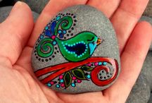 Painted and Art Stones