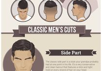 Man Hair Designs / Different styles of hair.