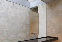 Камни в ванной