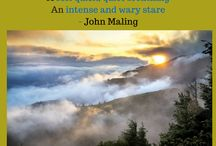 Inspirational Quotes from Have You Ever Held a Mountain? / John Maling is the author of Have You Ever Held a Mountain?, a photo-illustrated poetry gift book, in collaboration with Grant Collier, award-winning and published Colorado photographer. Be inspired by the writing and images!