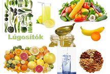 Egészséges ételek-italok