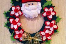 Идеи на Рождество (декор, поделки, идеи)