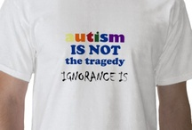 autism awareness / I honor of my grandson, 2 nephews and all the other kids that I know with Autism. Don't be so quick to judge. They can teach us too. / by Tammy Eller