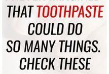 TOOTHPASTE USES