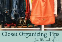 Decor: Closet organizing! / by Loring Hammond