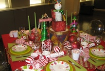 Holiday Tablescape / by Debbie Sirois