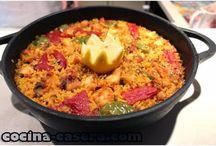 Cacerola para arroz