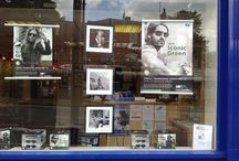 Optician Window Display Competition / We challenged our customers to create a Graphite Green window display as iconic as the glasses themselves.
