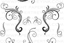 Scrolls & Flourishes / by Mitzy White