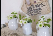 flower vases and such / by Karen Mendenhall
