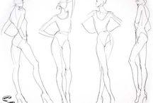 figurini pose