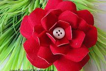 flor latinha de cerveja