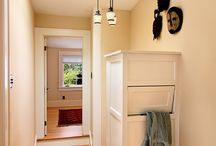 Clever Laundry & Mud Room Ideas