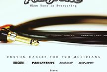 PolkyTone: When Tone is Everything / Custom Audio Cables for Pro Musicians
