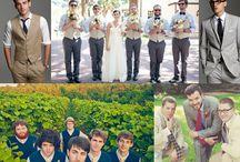 svatba muži