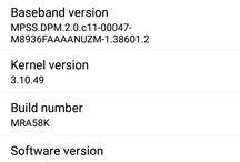 T-Mobile LG G Stylo / T-Mobile LG G Stylo receives Marshmallow update.