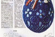 jajka  szydełko