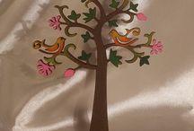 árboles de la vida pintados mdf