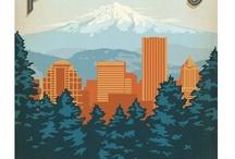 Portland...my favorite city / by Toni Bower