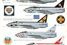 Model aircraft - EE Lightning