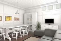 Reforma integral en Leioa / #reforma #arquitectura #diseño #interiorismo #3D #infografias #previsualización3D  #Gumuzio&PRADA