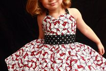 Girls / kids party dresses