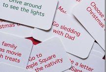Advent Calendar Ideas / by A Simply Good Life.