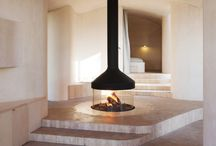 Cheminées - Fireplace / #chimney #fireplace #decoration #interiordesign #architectureintérieure #spaces #forthehome