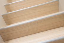 Moderne trappen NEWstairs / Maak van uw bestaande trap een moderne Z trap of Block trap. Erg mooi en uniek binnen uw interieur. Z-trappen of betonlook trappen zijn mogelijk in hout en betonlook en zijn geheel naar wens te maken.