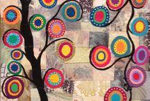 collages arboles