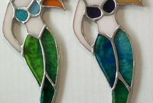 stained glass mermaids