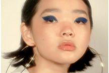 Blue m/u