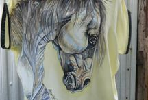 100% silk blouses - painted by Hardejewicz-Hardy