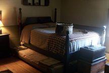 the Bedroom...