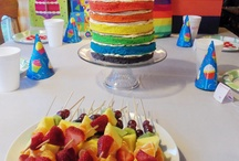 rainbow par-tay / Rainbow Birthday party ideas
