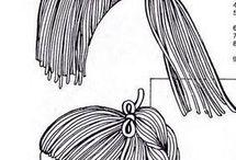 jak zrobić włosy dla lalek