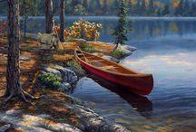 пейзаж-живопись