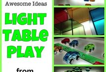 Light Table Activities!!! / by Vicky Engdahl