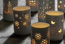 ceramic tea lights