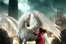 Einhörner und Pegasus