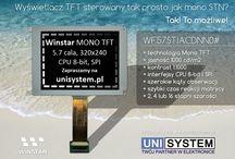 Unisystem / Stworzone przeze mnie reklamy dla Unisystemu