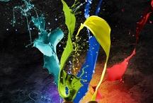 A Splash of Color / Inspiring colors all around