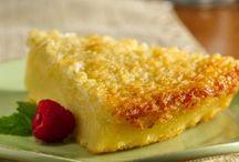 Food: Dessert; Pies, Bars, Crisps