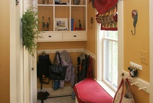 Halls and Entryways / Hallways and entries. Many images from my own portfolio. #homedecor #design #newhampshire