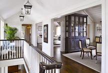 Hallways, entries, stairs...
