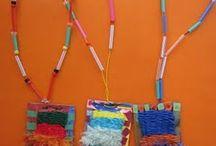 Needle weaving