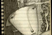 The work of Japanese artist Gustav Klim / by Sandi FitzGerald