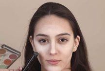 Maquiagem afinar rosto